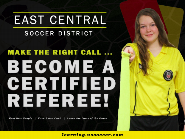 Become a referee ad
